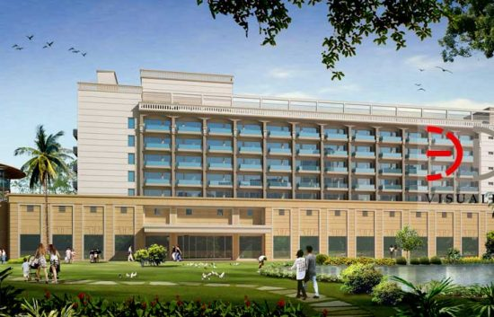 3D Power Rendering for Bestech Bohrakhurd Hotel