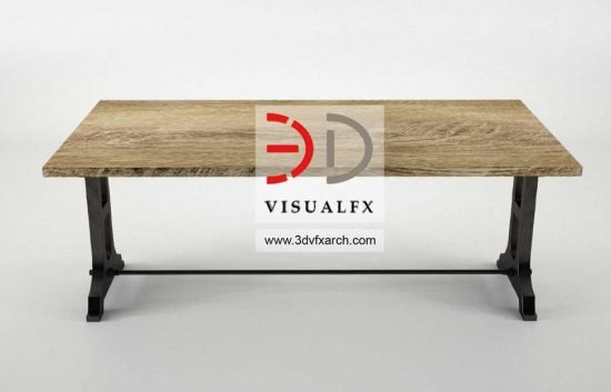 3D Product Modeling of Bench