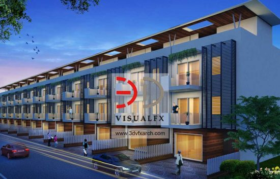 Star Villa 3D Architectural Visualization