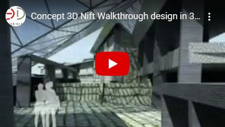 Nift Concept 3d walkthrough