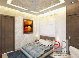 3D Bedroom Design